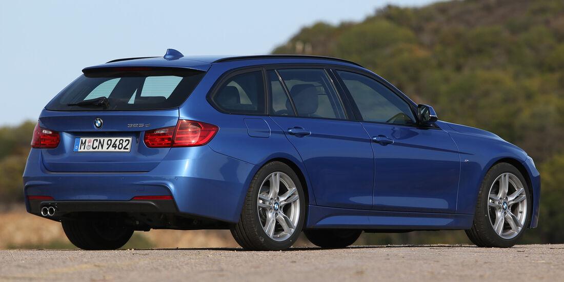 BMW 325d Touring, Seitenansicht