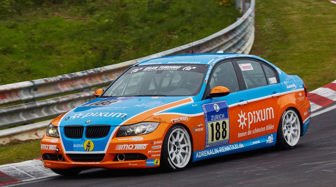 BMW 325i E90 - Pixum Team Adrenalin Motorsport - Startnummer: #188 - Bewerber/Fahrer: Jens Bombosch, Danny Brink, Ralph-Peter Rink, Stephan Reuter - Klasse: V4