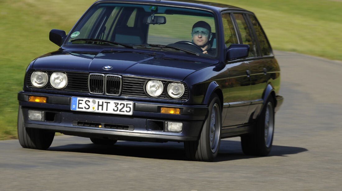 BMW 325i Touring, Front