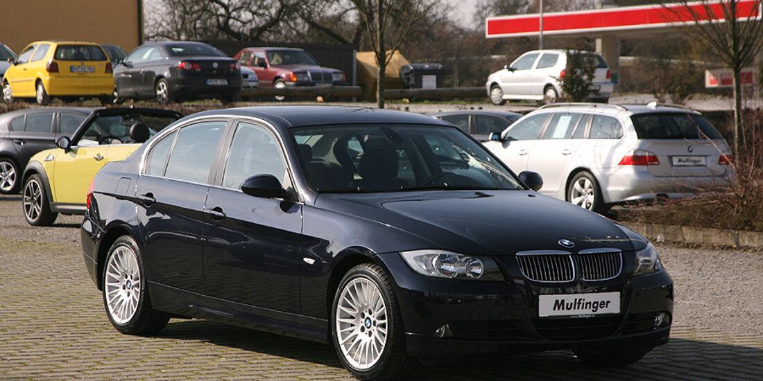 BMW 325i im Gebrauchtwagen Check