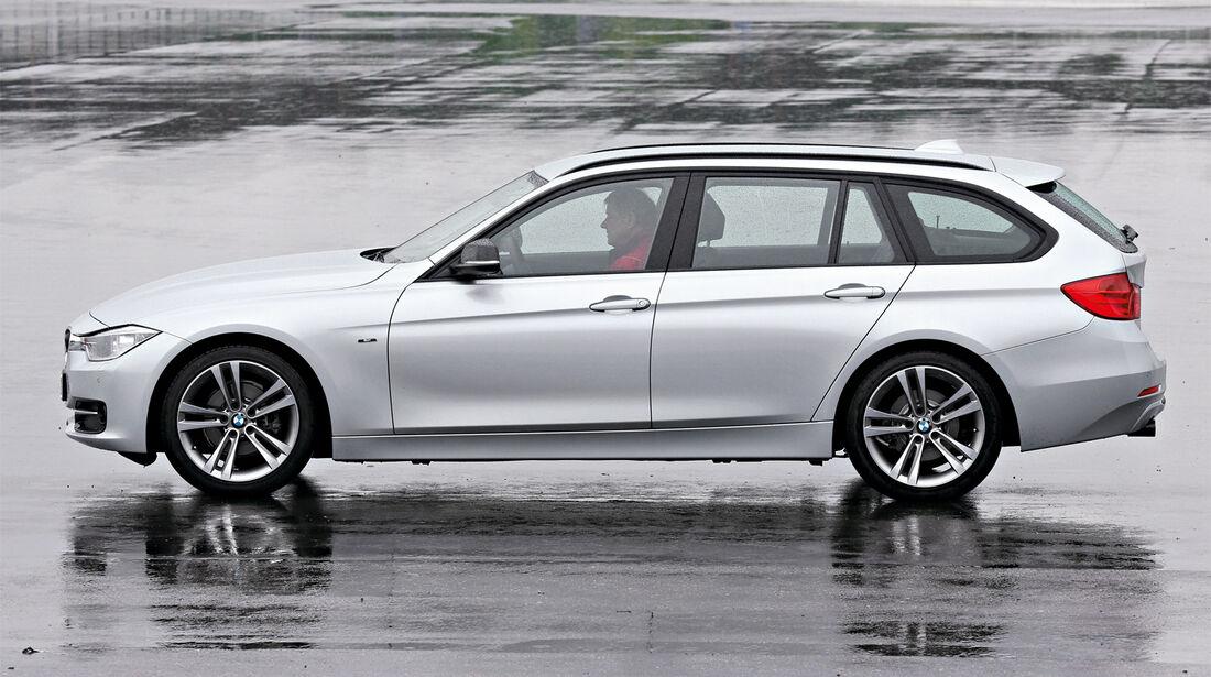 BMW 330d Touring, Seitenansicht