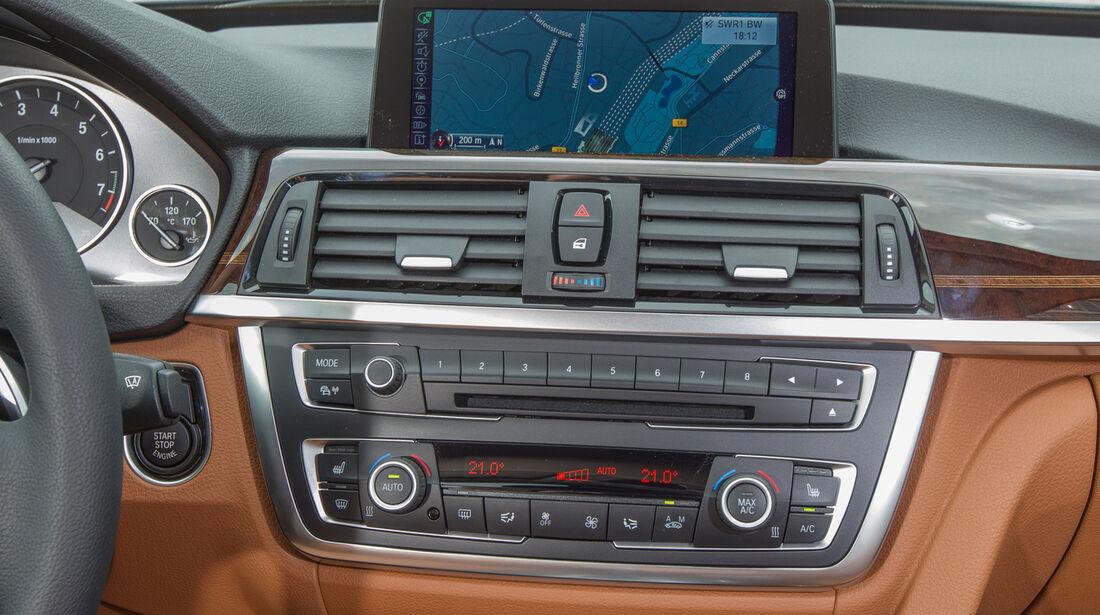 BMW 335i Gran Turismo, Mittelkonsole