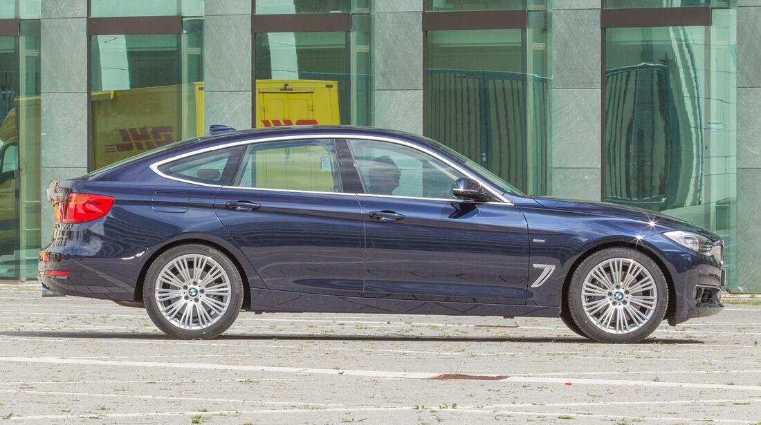 BMW 335i Gran Turismo, Seitenansicht