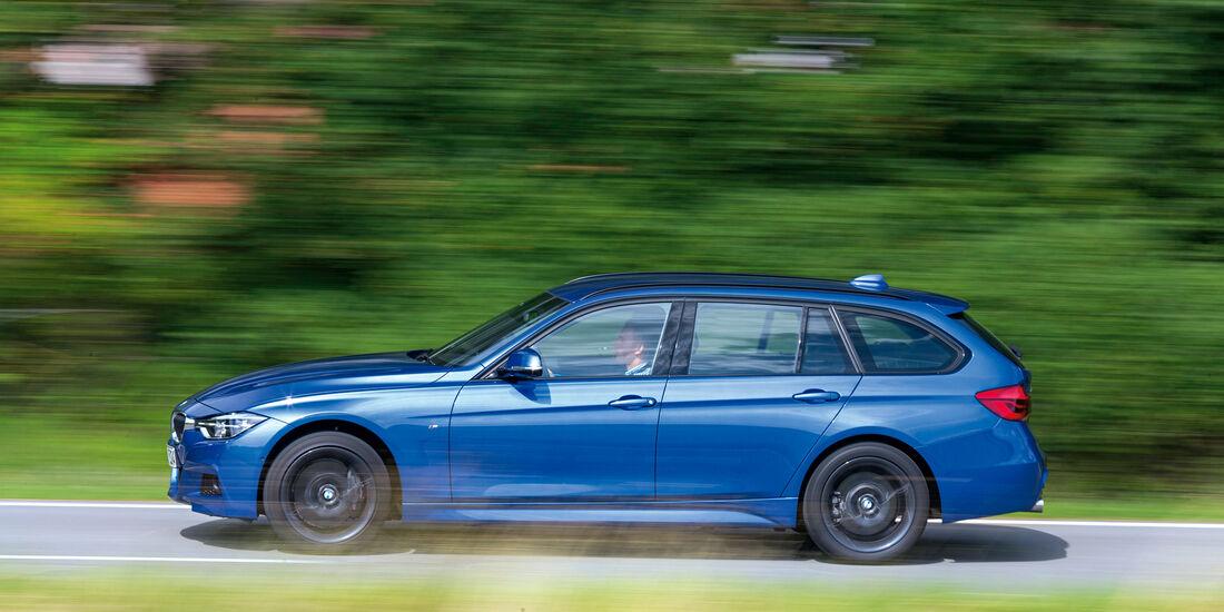 BMW 340i xDrive Touring M Sport, Seitenansicht