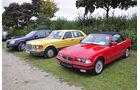 BMW 3er Cabrio, Mercedes S-Klasse