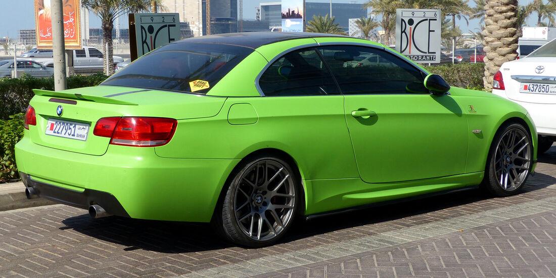 BMW 3er Coupé - Carspotting Bahrain 2014