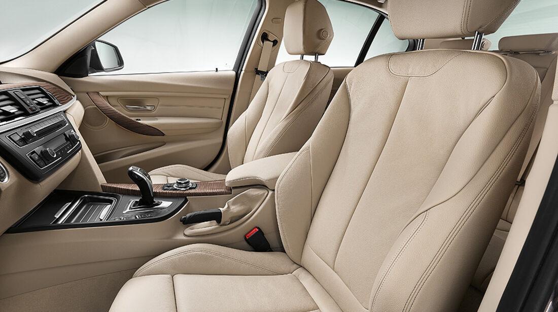 BMW 3er Limousine 2012, Innenraum, BMW 3er Limousine 2012, 10/11 Modern Line