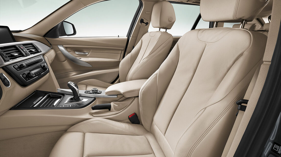 BMW 3er Touring, Fahrersitze