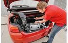BMW 420i Cabrio, Kofferraum