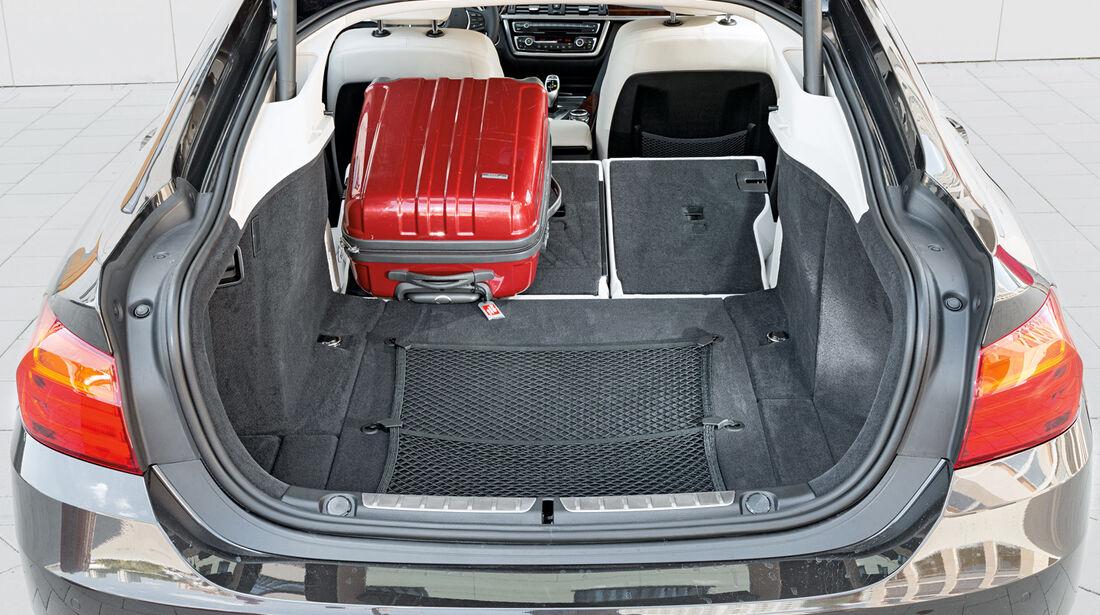 BMW 428i Gran Coupé, Kofferraum