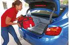 BMW 428i, Kofferraum