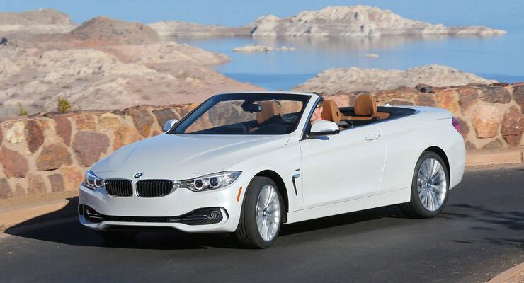 BMW 435i Cabrio, Frontansicht