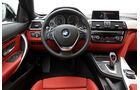 BMW 435i Coupé, Cockpit, Lenkrad