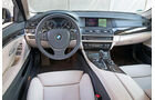 BMW 520d Touring, Cockpit, Lenkrad