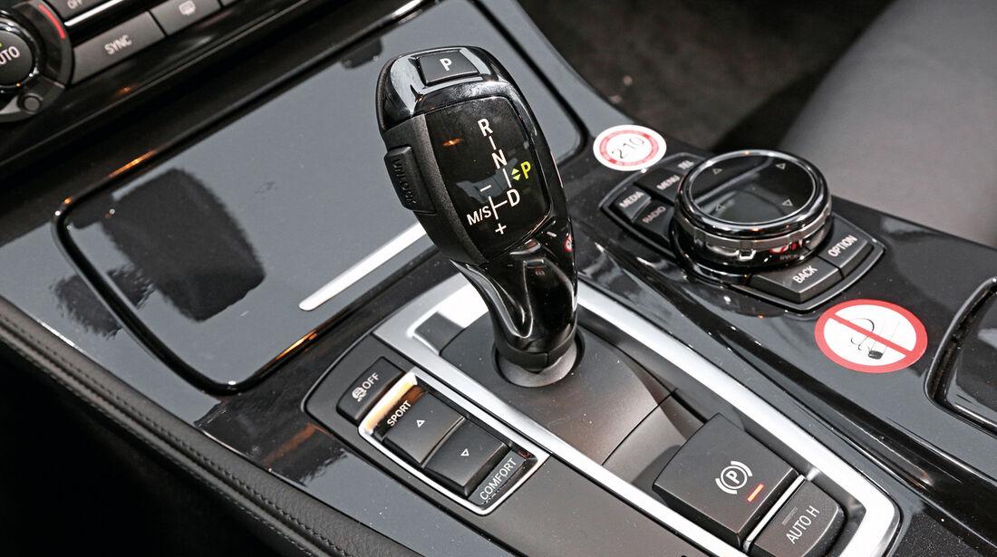 BMW 520i, Schalthebel, Schaltung