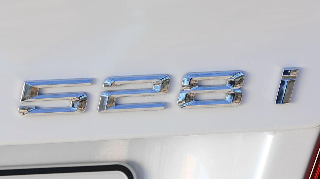 BMW 520i, Schaltung, Schalthebel