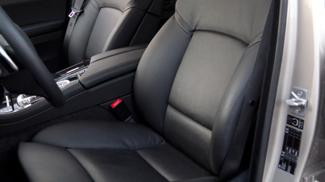 BMW 520i Touring, Sitze