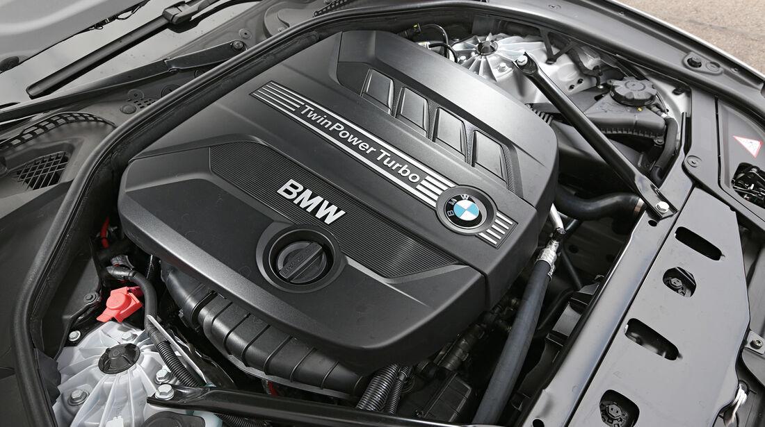 BMW 525d Touring, Motor