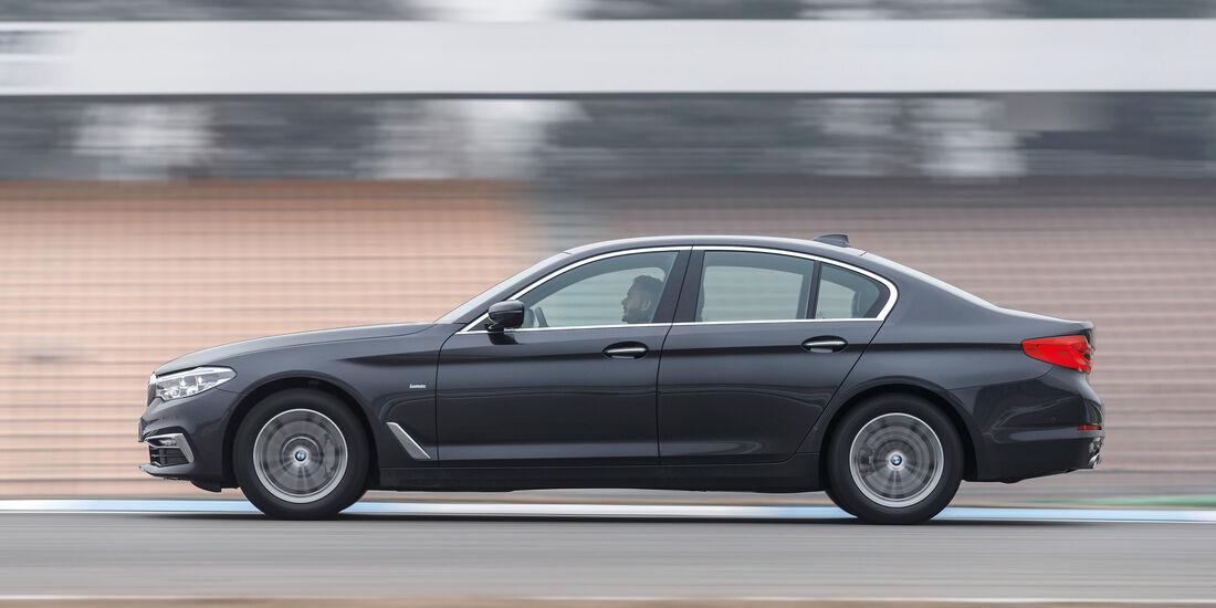 BMW 530d, Seitenansicht