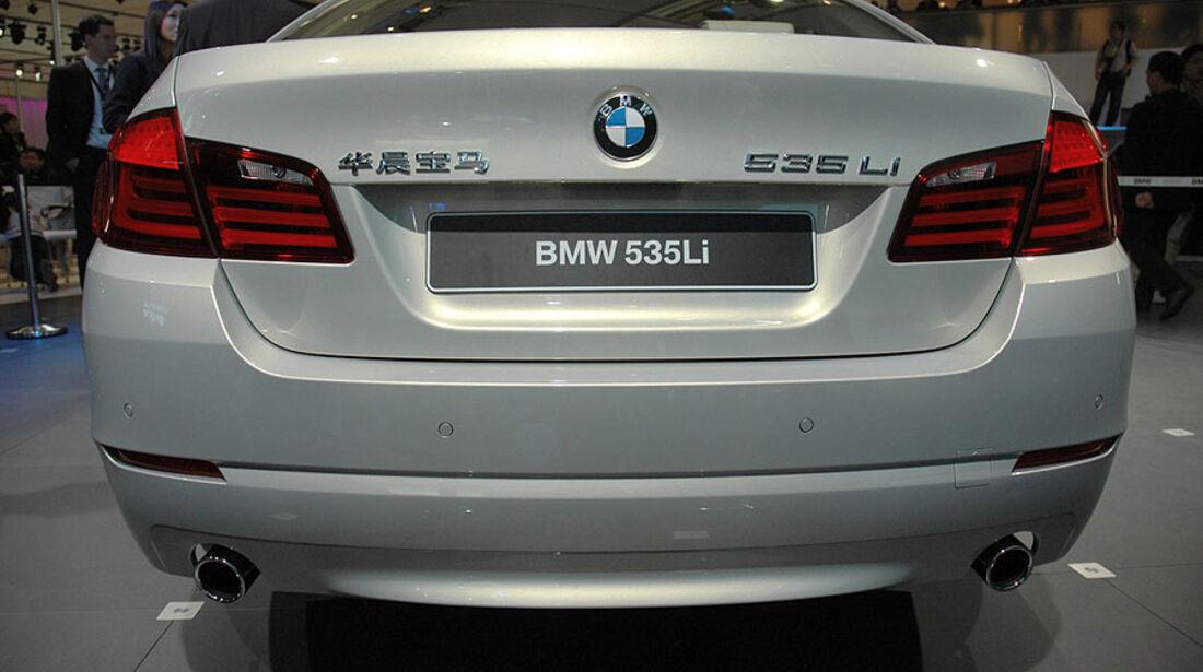 BMW 535Li auf der Auto China 2010