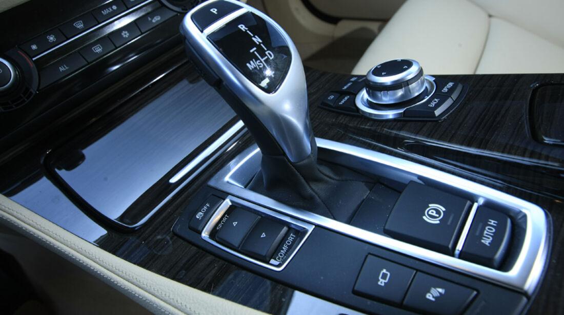 BMW 535i Ganghebel Mittelkonsole
