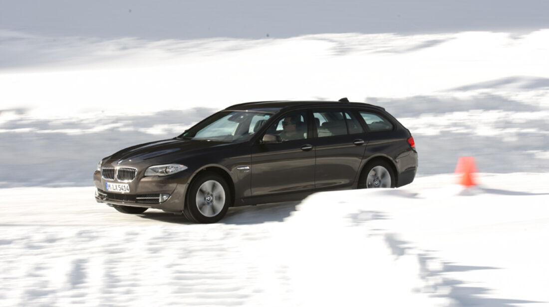 BMW 535i Touring, Seitenansicht