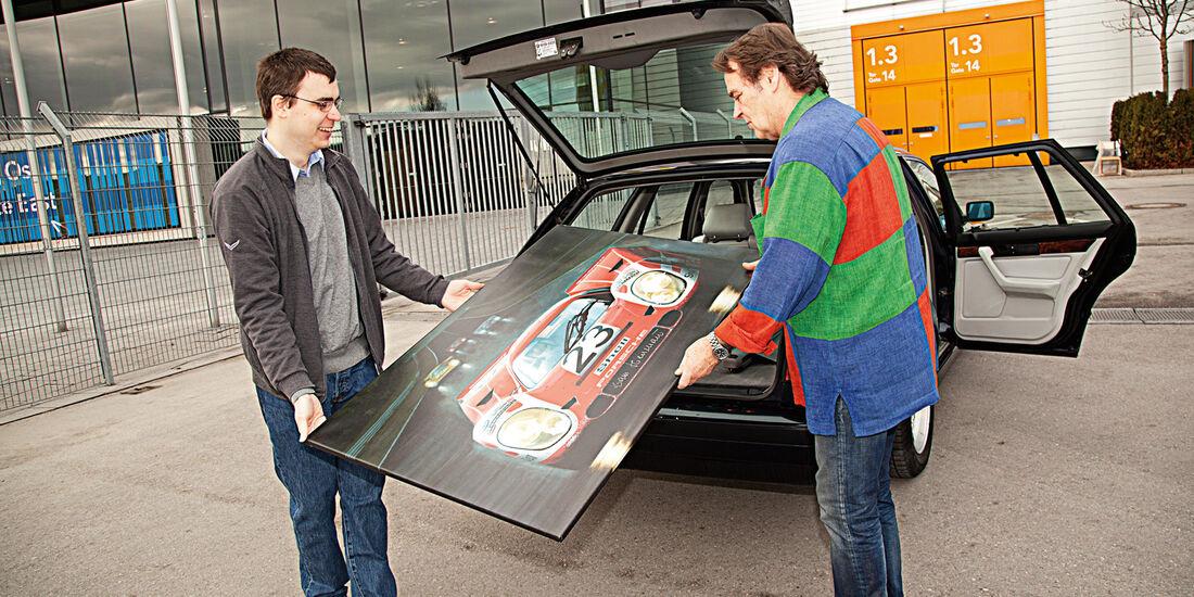 BMW 540i Touring, Kofferraum, Bild