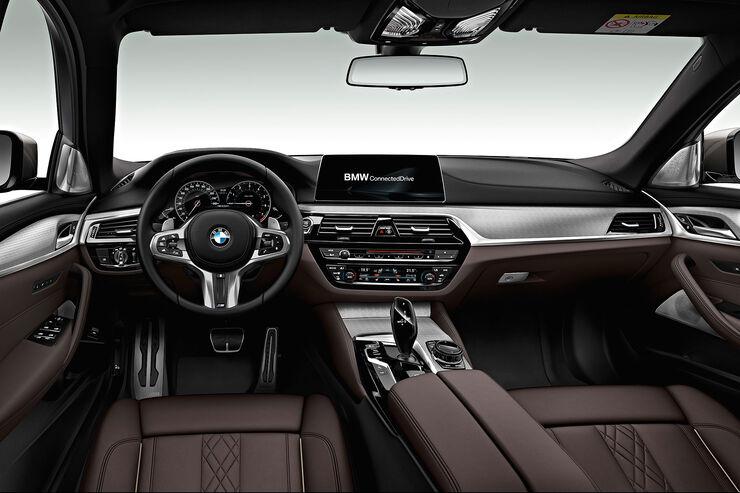 Neuer BMW 5er (G30): Video vom Erstkontakt und Innenraum - auto ...