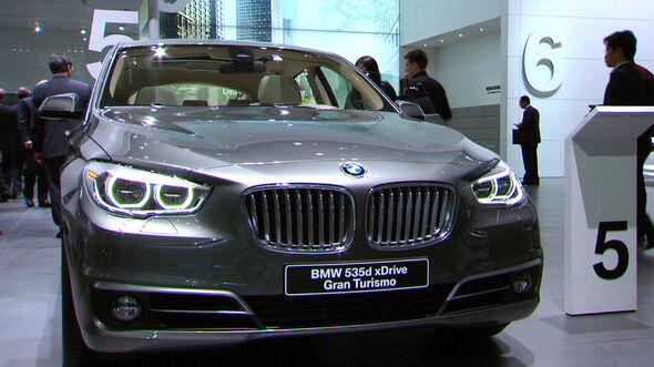 BMW 5er GT Facelift
