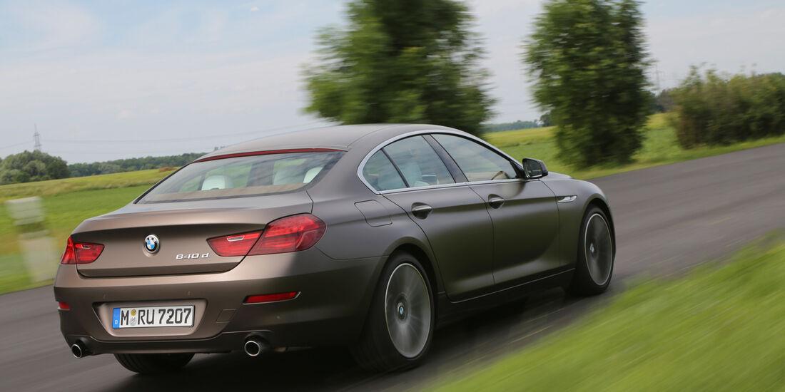 BMW 640d Gran Coupé, Heckansicht