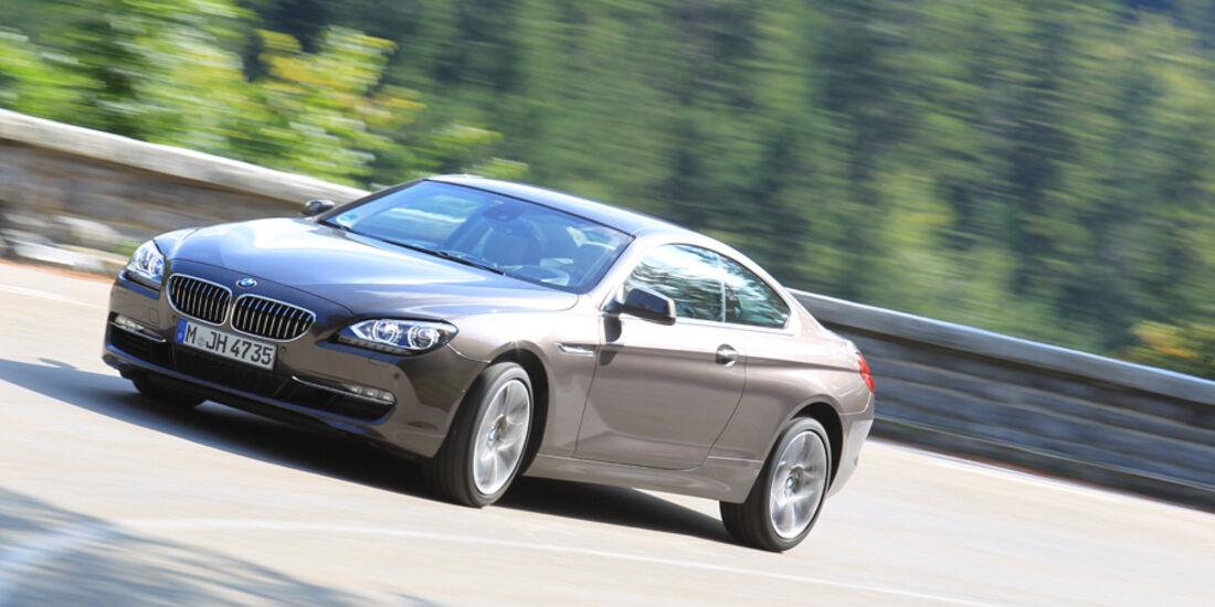 BMW 640i Coupe, Front, Kurve