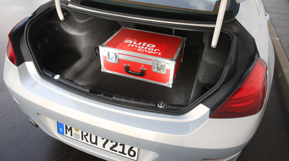 BMW 640i Gran Coupé, Kofferraum