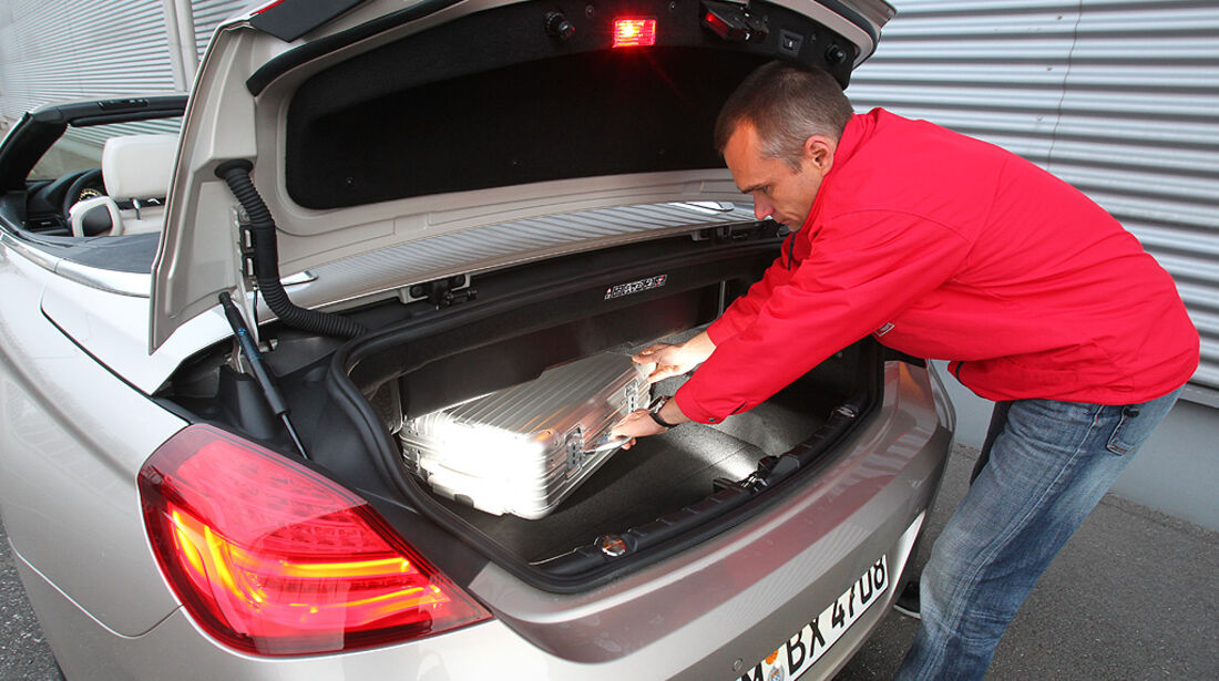 BMW 650i Cabrio, BMW 6er Cabrio, Kofferraum