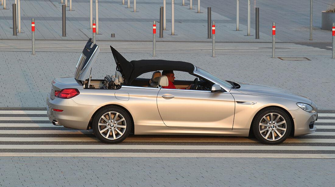 BMW 650i Cabrio, BMW 6er Cabrio, Verdeck