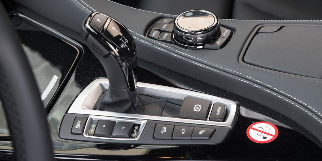 BMW 650i Coupé, Schalthebel