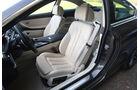 BMW 650i, Fahrersitz