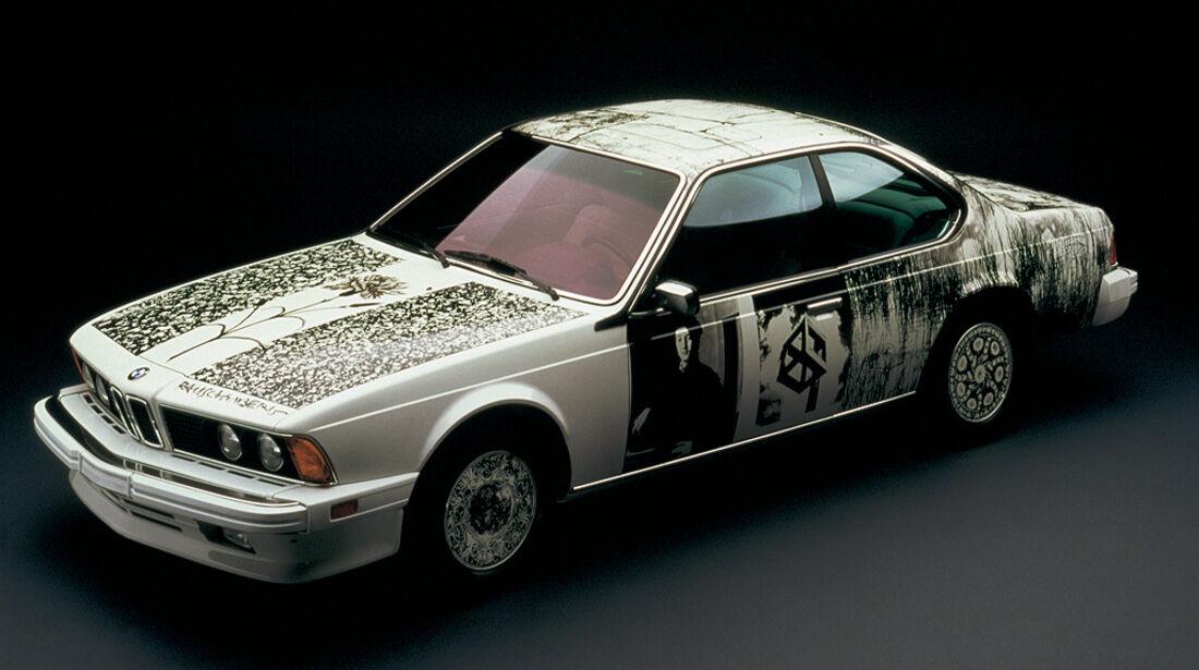 BMW 6er, Art Car, Robert Rauschenberg, 1986, BMW 635 CSi