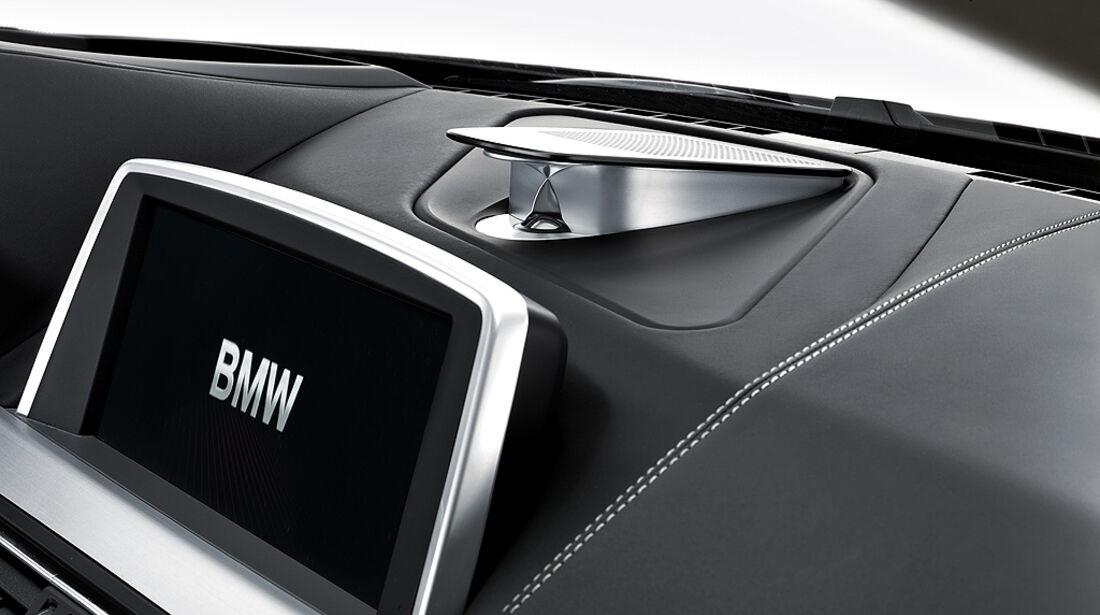 BMW 6er Coupé, Navigationsbildschirm