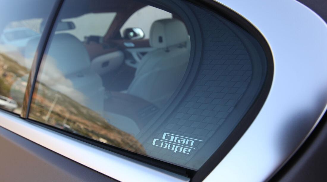 BMW 6er Gran Coupé, Seitenfenster