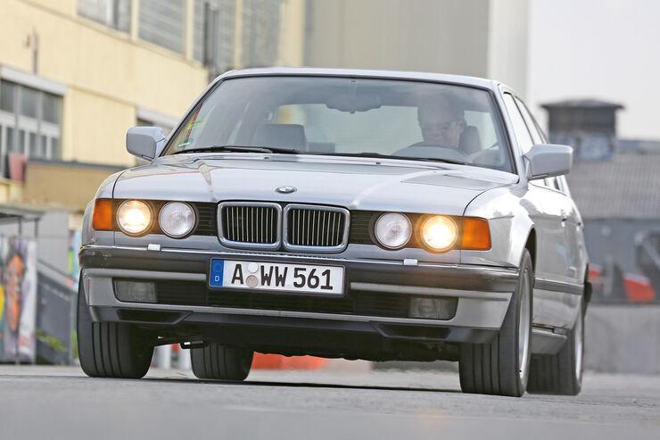 BMW 730i 750iL E 32 V8 V12 Frontansicht