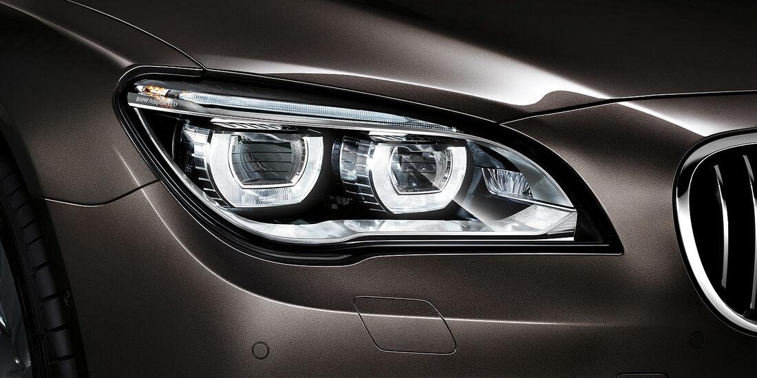 BMW 7er, Scheinwerfer