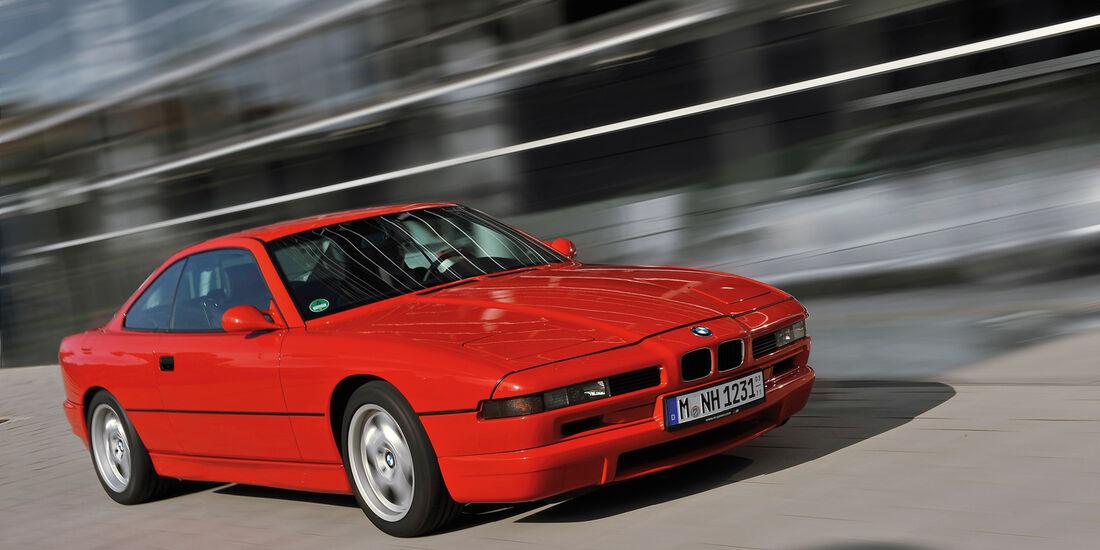 BMW 850i - 850 CSi, Frontansicht