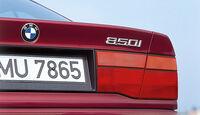 BMW 850i, Heckleuchte