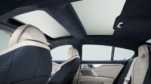 BMW 8er Gran Coupé, Panoramaglasdach