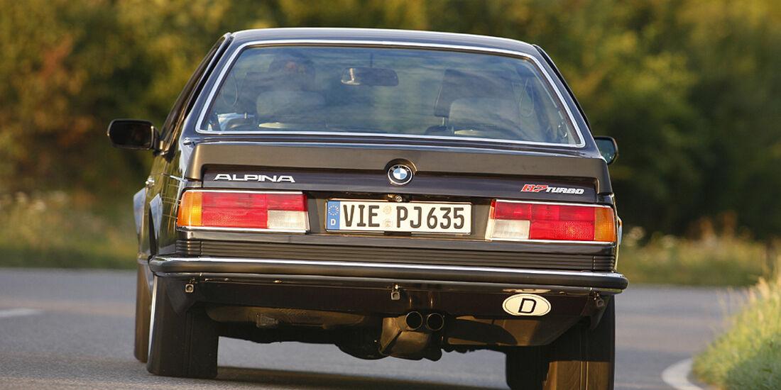 BMW Alpina B7 - Heckansicht
