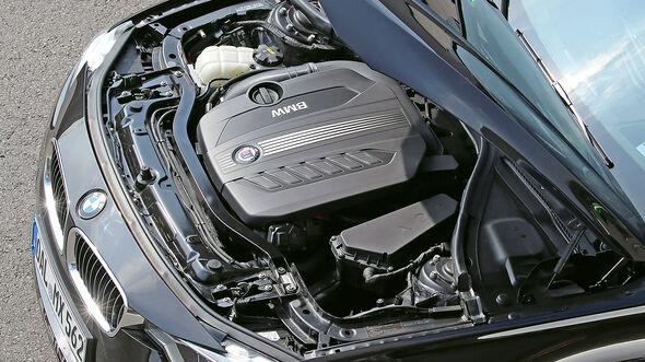 BMW Alpina D3 Biturbo Touring Allrad, Motor