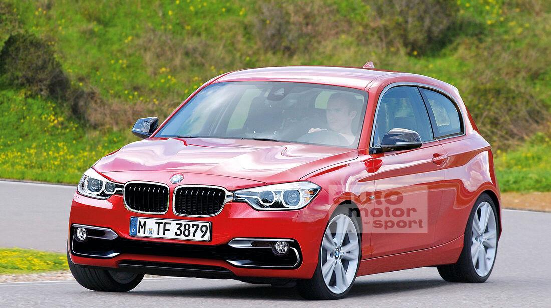 BMW City Retusche