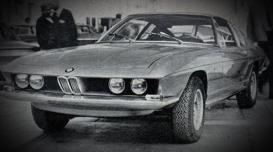 BMW, Coupé, Pietro Fruas, IAA 1969
