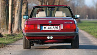 BMW Dreier Cabrio, Heck