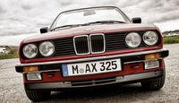 BMW Dreier E30 Cabriolet, Front, Kühlergrill